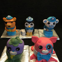 Octonauts I made these Rice Krispie Treats Octonauts for my Sister-in-laws school class.