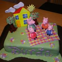 Pepa Pig And Family For one little girl