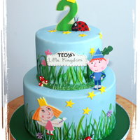 Ben And Holly's Little Kingdom Cake Ben and Holly's Little Kingdom