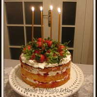Strawberry Passion My daughter's birthday cake