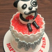 Panda Cake Ryan makes jewerly for the Pandamanda Foundation that he and his family started for his sisters, Amanda and Jessica Messinger. The...