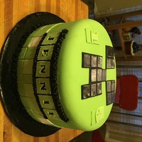 Minecraft Had to Google Minecraft before I could make this cake!