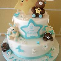 Teddy Bear Christening Cake Teddy Bear Christening Cake http://blog.cookaround.com/sloppina/