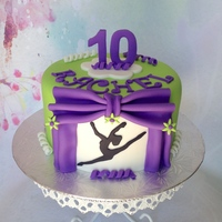 Dance Cake Marble cake with vanilla buttercream
