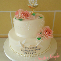 The First Communion Cake The First Communion Cake