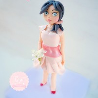 Kayla I made kalya, from fondant