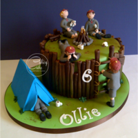 Woodland Den To celebrate his 6th Birthday Ollie's parents were treating him and his classmates to a woodland adventure party, where he was...