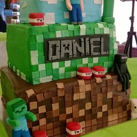 Minecraft Birthday Cake Minecraft