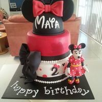 Minnie Mouse all edible, thanks for looking
