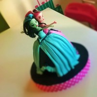 Monster High - Dress Cake Dracu Laura and Frankie , a free version of the dresses