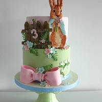 Peter Rabbit Peter rabbit cake