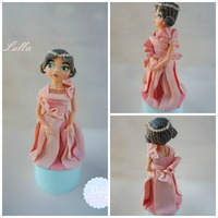Lulla .... Made from fondant