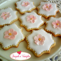 Flower Sugar Cookies Flower sugar cookies