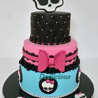 Monster High Cake original design Arte Da Ka