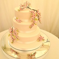 Blossoms For A Bride The couple wanted traditional flavours-base tier fruit cake, middle tier-vanilla sponge, I persuaded them to have a lemon and passion fruit...