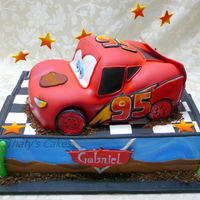 Lightning Mcqueen Cake All edible.