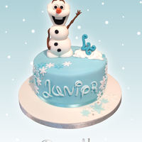 Olaf From Frozen Cake Olaf from Frozen cake