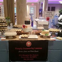 Dessert Table First event