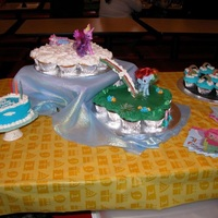 My Little Pony Cupcake Cakes  Three favors of cupcakes for My Little Pony birthday. Confetti, Chocolate and Vanilla, all filled with Twinkie filling and topped with...
