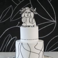 Picasso Cake I made this cake for my art students who finished school. Therefore, it has a subject from the history of art, a portrait of Fran&...