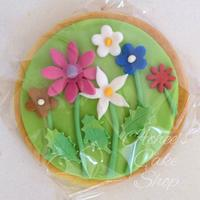 Cookies With Fondant Decoration NFSC decorated with fondant and little bit of RI