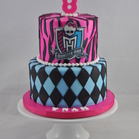 Monster High Cake  Ynah, the birthday celebrator is a huge fan of monster high. I thought that I would be able to finish her cake in a flash but I was totally...