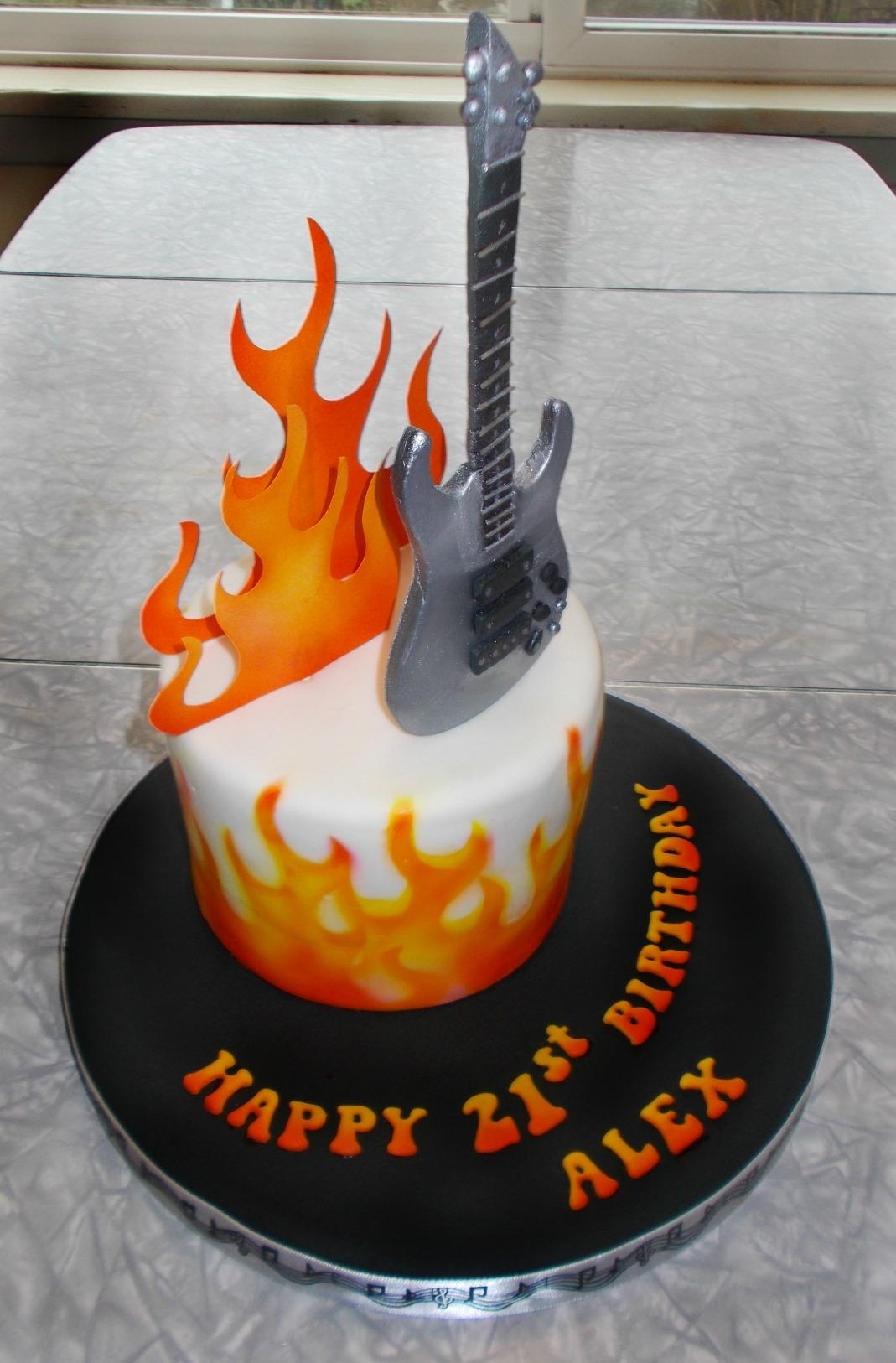 Bass Guitar Cake Cakecentral Com