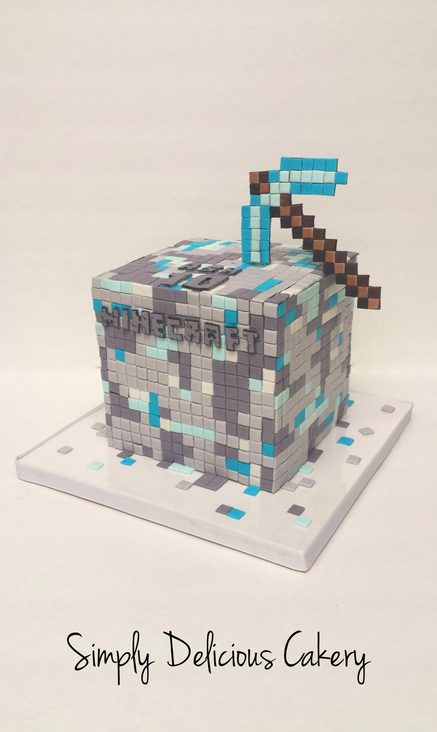 Minecraft on Cake Central