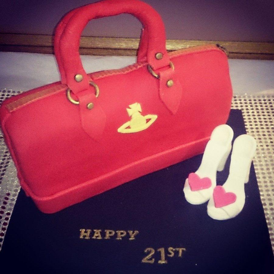 Vivienne Westwood Handbag Cake