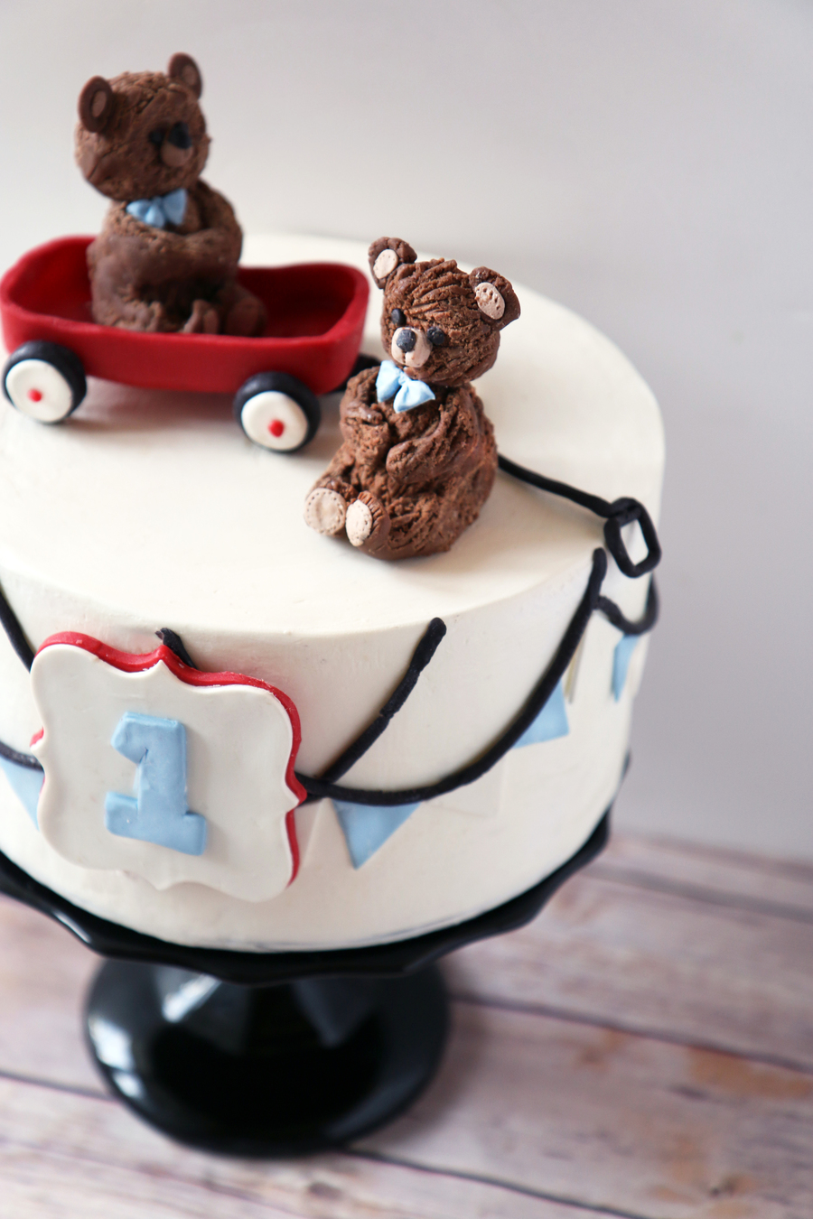 Red Wagon Cake on Cake Central