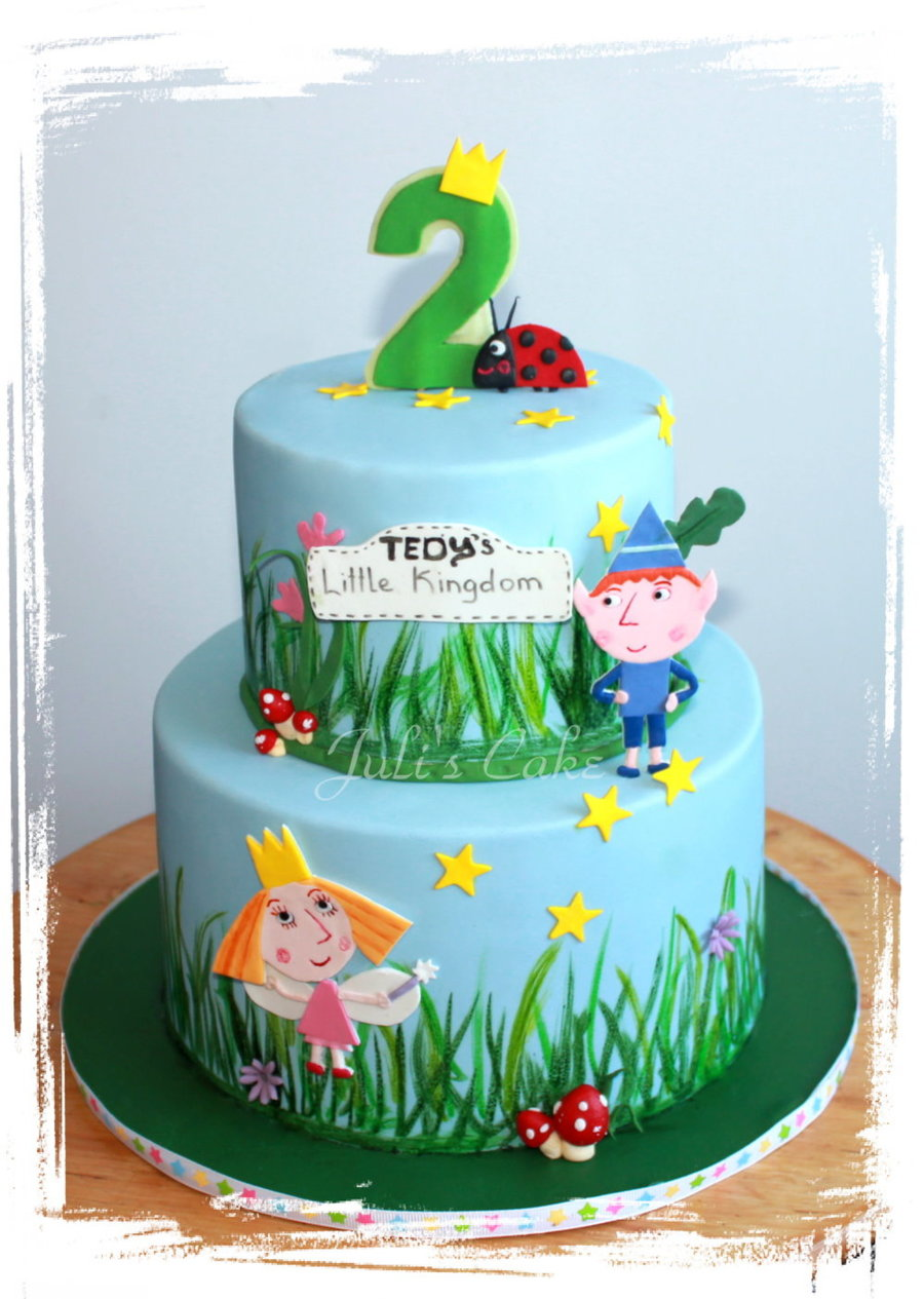 Ben And Holly S Little Kingdom Cake Cakecentral Com