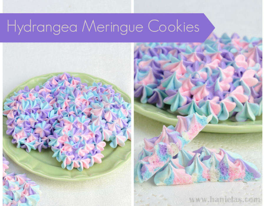 Hydrangea Meringue Cookies on Cake Central