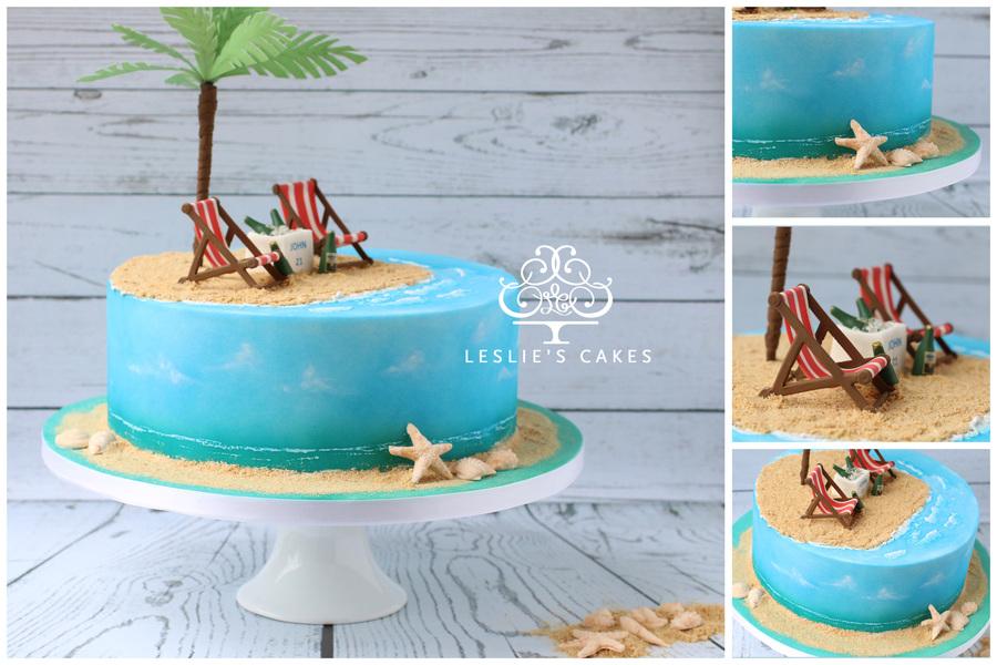 Paradise Island Cake Cakecentral Com