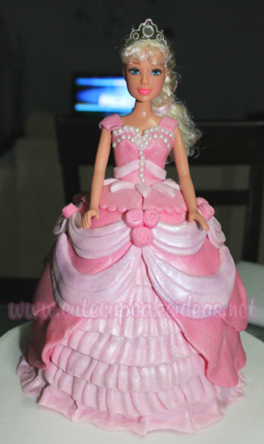 Barbie Princess Cake Cakecentral Com