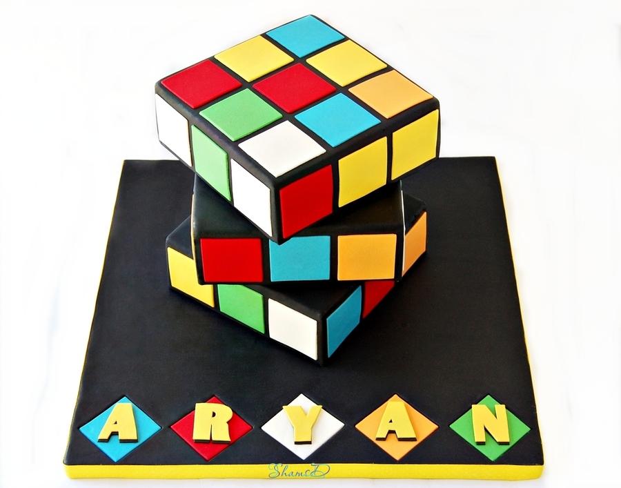 rubik s cube cake cakecentral com