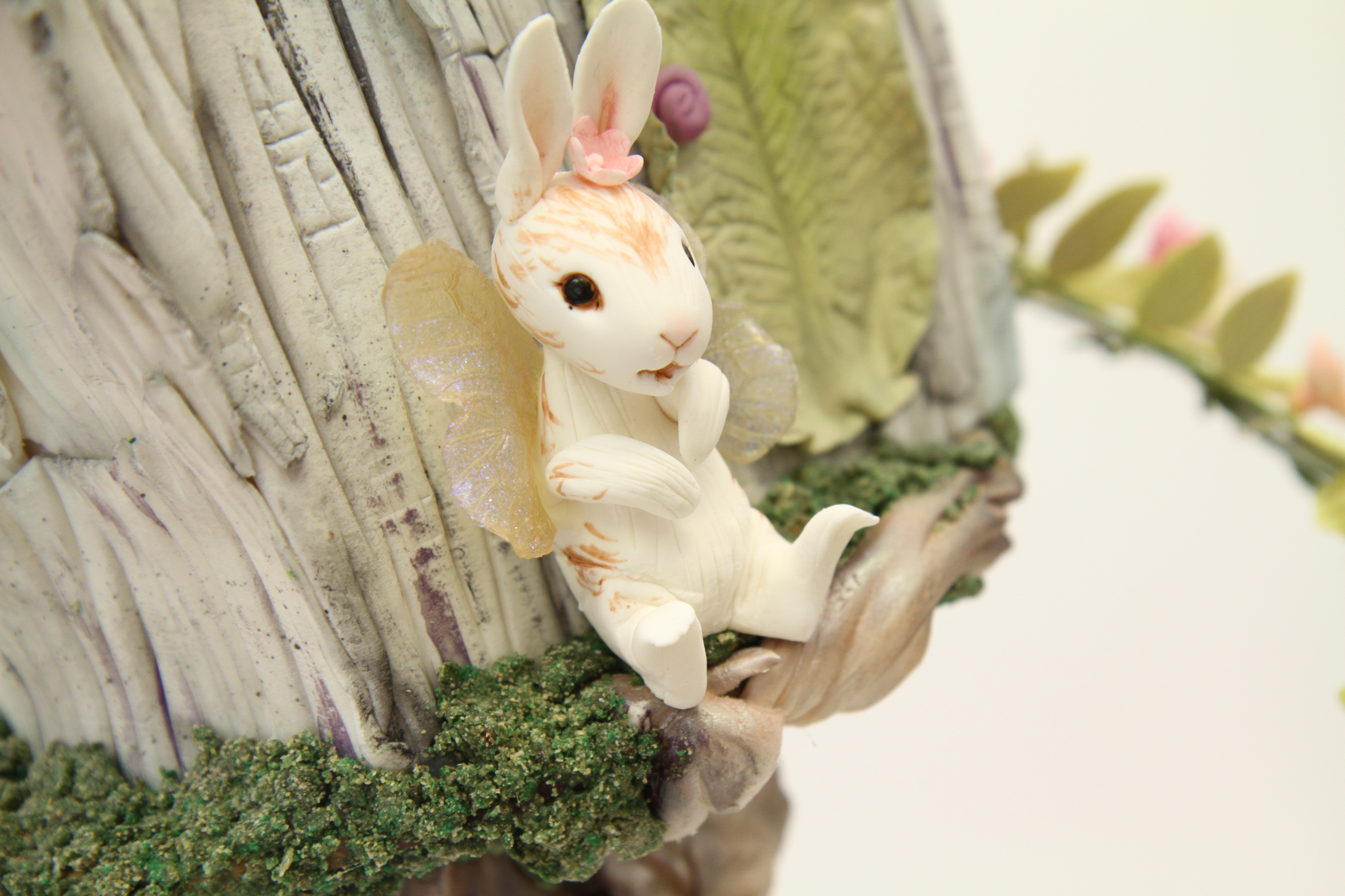 Fairy House Now With 100 More Rabbits Cakecentral Com
