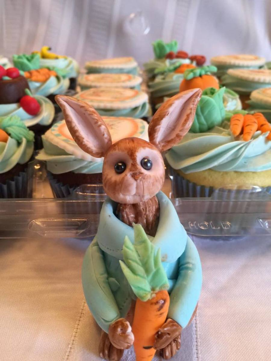 Peter Rabbit Baby Shower Cupcakes Cakecentral Com
