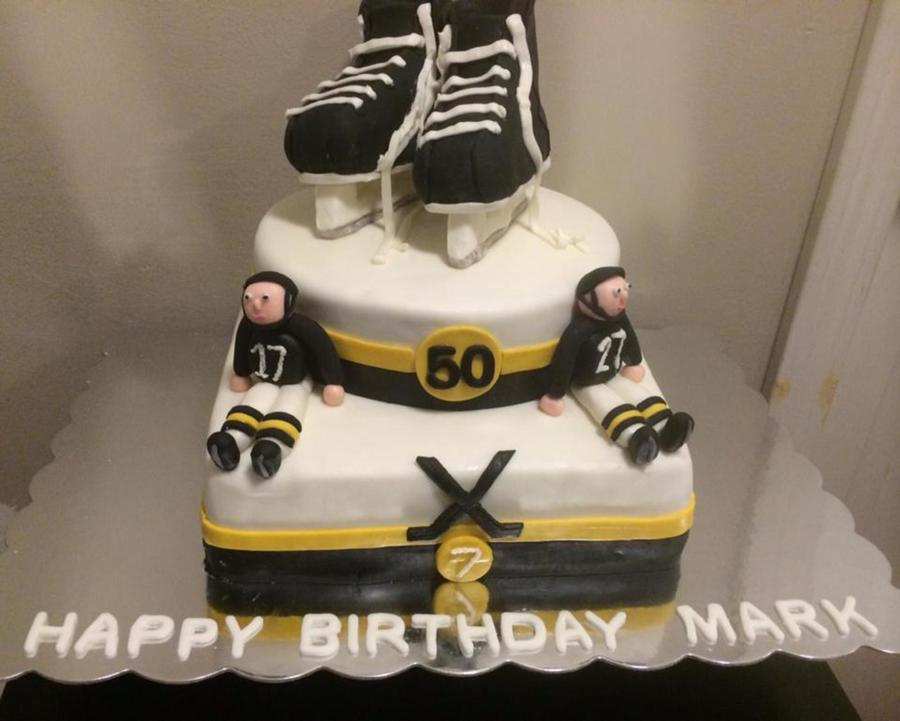 Boston Bruins Birthday On Cake Central