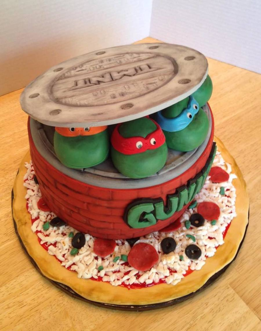 Miraculous Teenage Mutant Ninja Turtle Cake Cakecentral Com Funny Birthday Cards Online Bapapcheapnameinfo