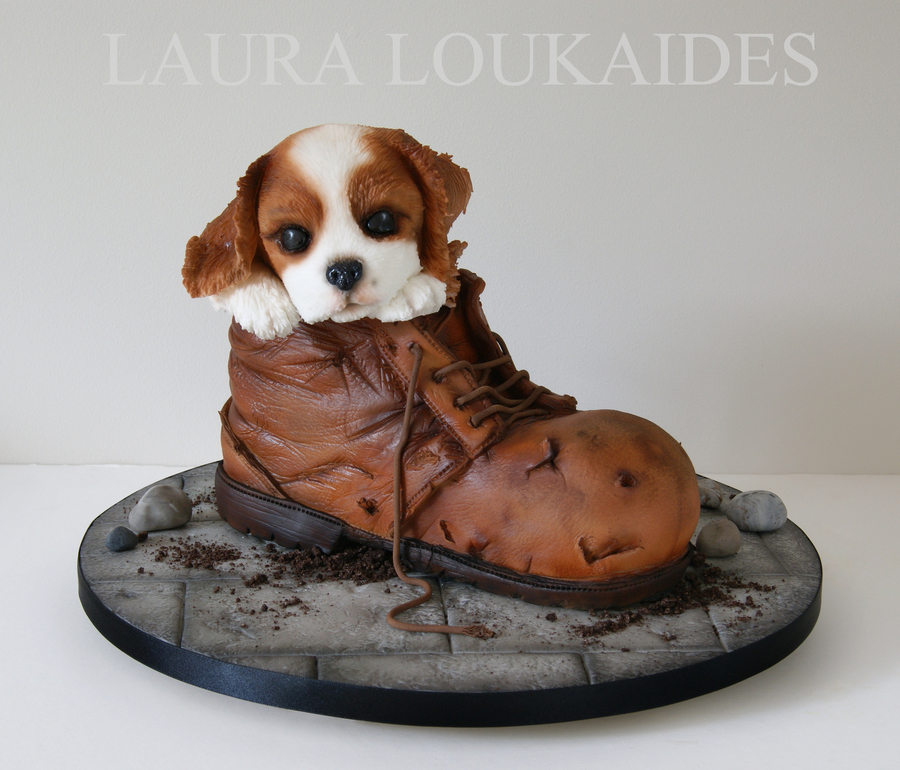 Charlie And His Boot Cakecentral Com