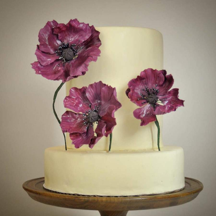 Marsala Poppies Cake Cakecentral