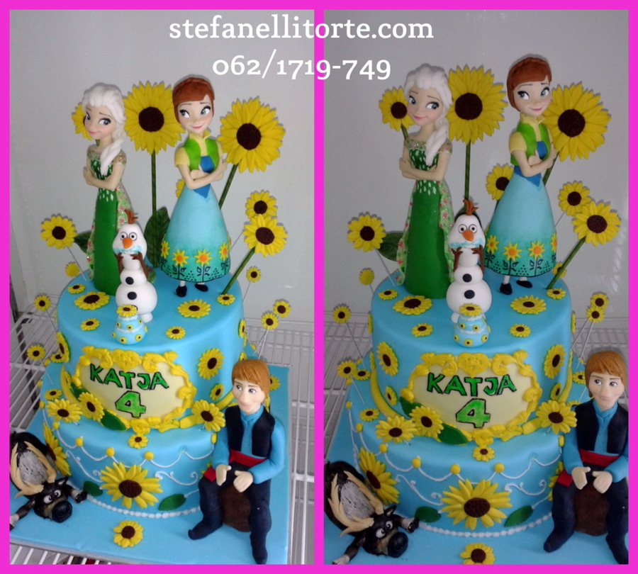 Frozen Fever Cake on Cake Central