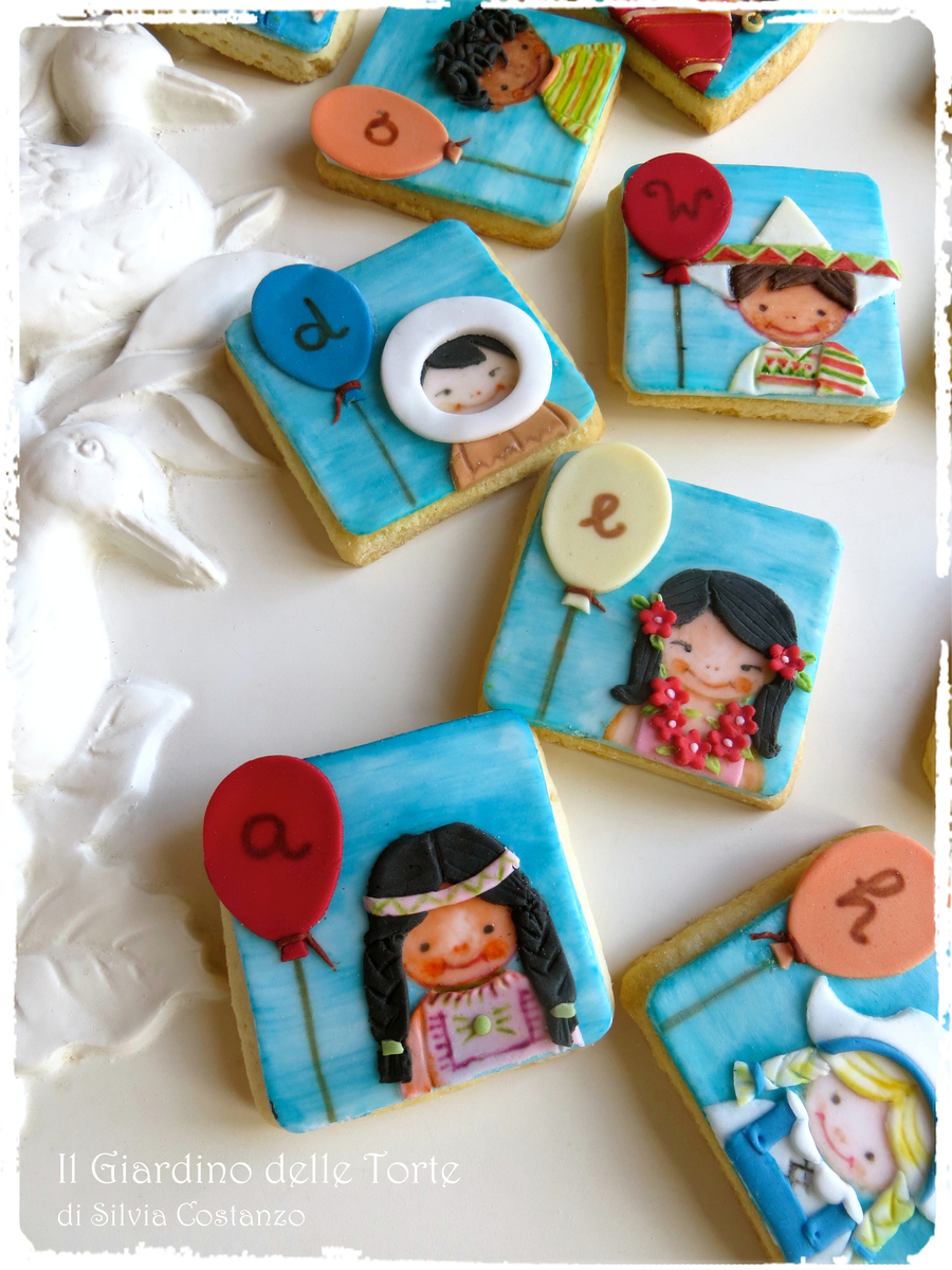 Children Cookies on Cake Central
