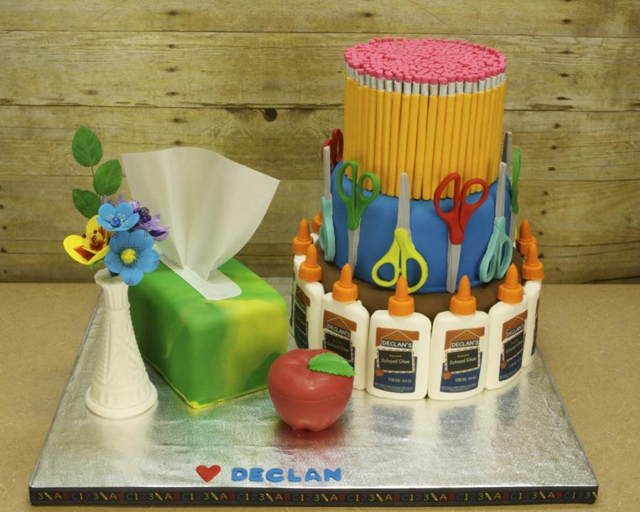 Teacher Appreciation Cake Cakecentral Com