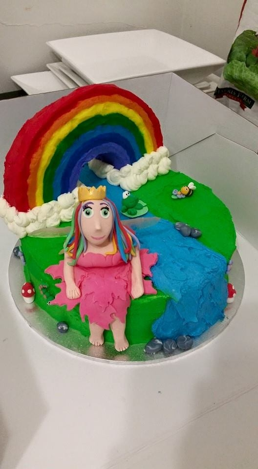Multi Coloured Fairy Cake Recipe