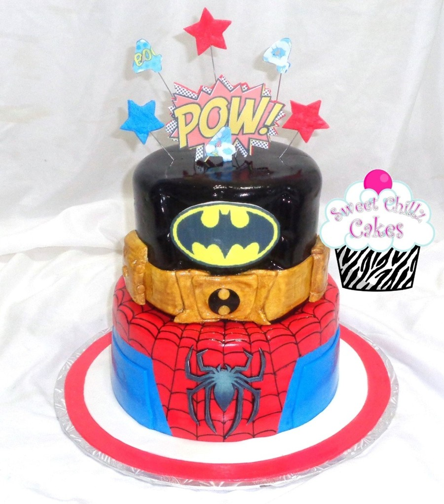 Super Heroes on Cake Central