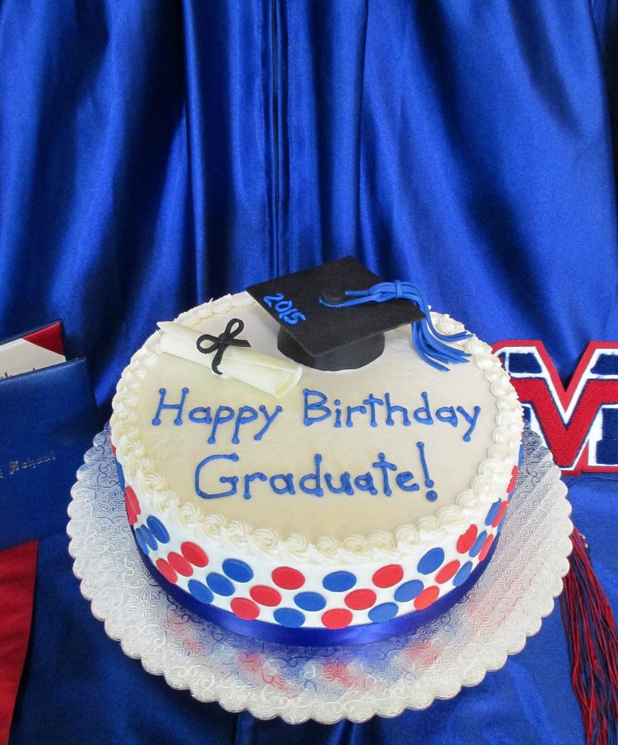 Groovy Graduation Birthday Cake Cakecentral Com Personalised Birthday Cards Akebfashionlily Jamesorg