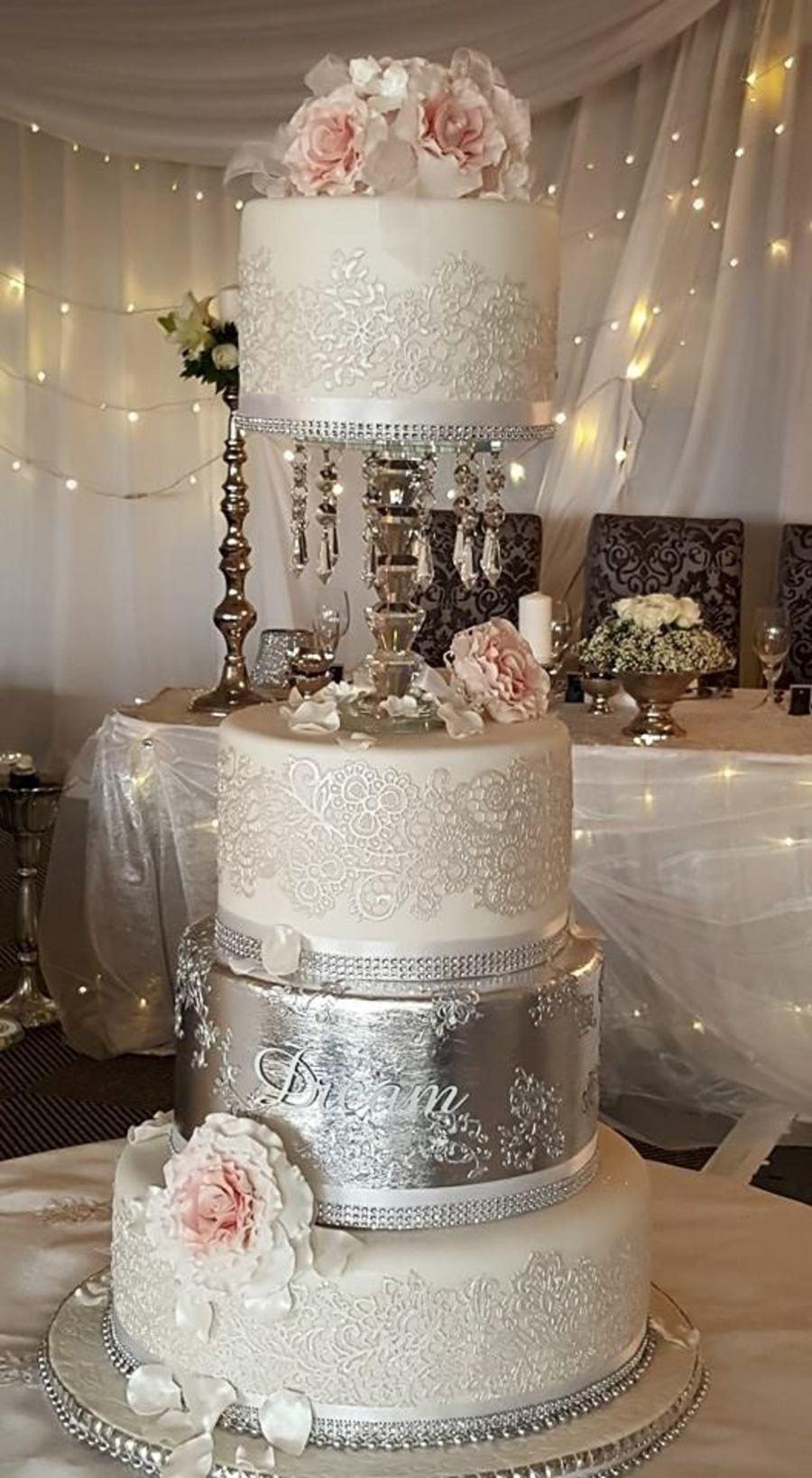 Wedding Cake Silver Dreams 2015 Cornelia Marreiros