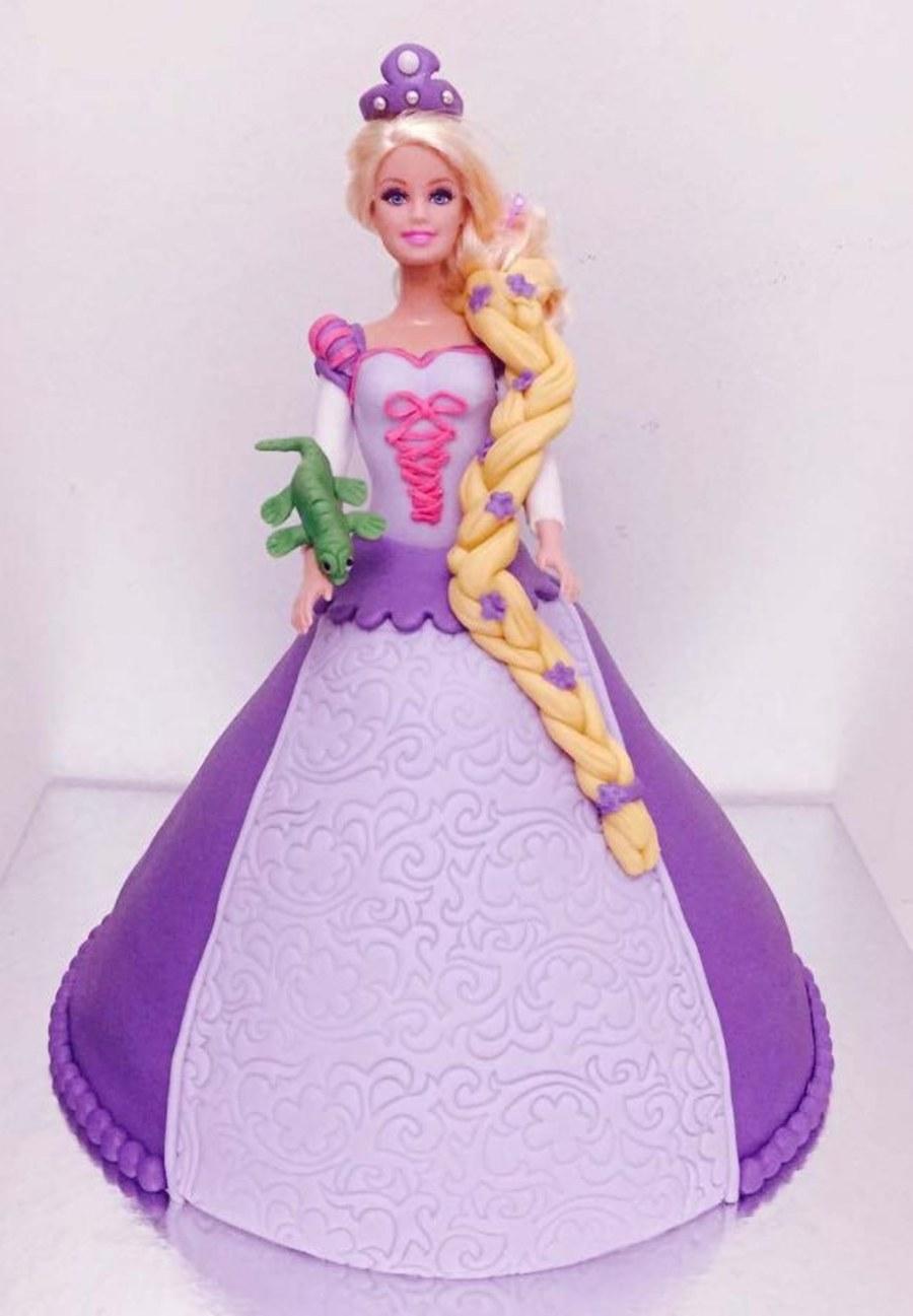 Rapunzel Doll Cake Cakecentral Com