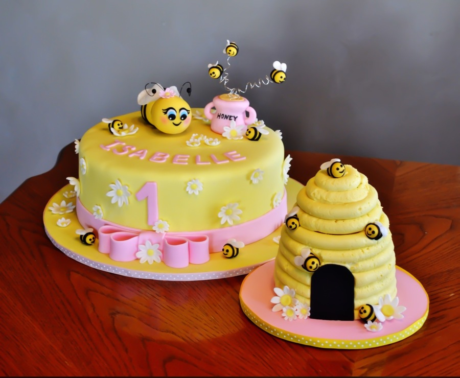 First Birthday Bee Cake Cakecentral